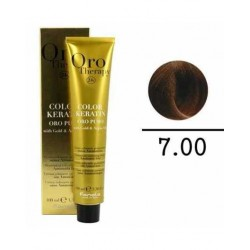 Coloration sans ammoniaque 7.00 Blond naturel renforce. 100ml. Orotherapy