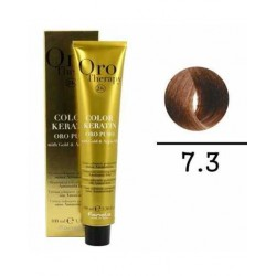 Coloration sans ammoniaque. 7,3 Blond naturel doré. 100ml. Orotherapy