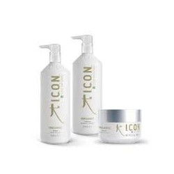 ICON Organic CBD Shampooing 1L + Conditionneur 1L + Masque 250gr