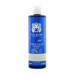 Valquer Shampooing Power Color Silver. 400ml. Sans sel