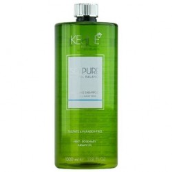 KEUNE So Pure Shampoo 1000ml Calming  Essential Oils Camomille et Lavande Bio