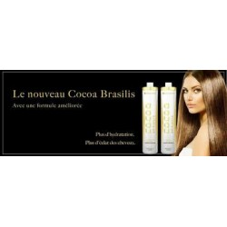 COCOA BRASILIS Lissage à la kératine mini kit ( 2x100ml) Elyssa Cosmetique